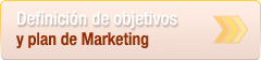Definici�n de objetivos y plan de Marketing